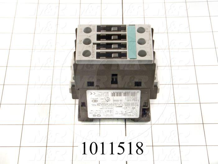 Contactor, 3 Poles, 240VAC Coil, 35A, 7.5 HP @ 3PH 200VAC, 575VAC, 15 HP @ 3PH 460VAC, Screw Terminal Connection