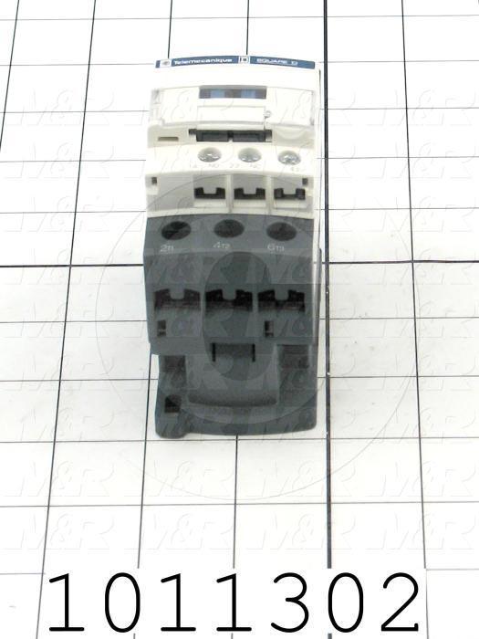 Contactor, 3 Poles, 240VAC Coil, 40A, 7.5 HP @ 3PH 200VAC, 575VAC, 15 HP @ 3PH 460VAC, 1 NO Contacts, 1 NC Contacts, Screw Terminal Connection