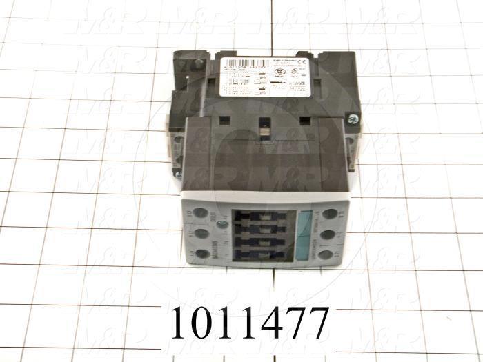 Contactor, 3 Poles, 240VAC Coil, 45A, 10 HP @ 3PH 200VAC, 575VAC, 25 HP @ 3PH 460VAC, Screw Terminal Connection