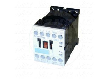 Contactor, 3 Poles, 24VAC Coil, 20A, 3 HP @ 3PH 200VAC, 575VAC, 7.5 HP @ 3PH 460VAC, 1 NO Contacts, Screw Terminal Connection