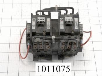 Contactor, 3 Poles, 24VAC Coil, 35A, 460VAC, Screw Terminal Connection