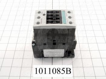 Contactor, 3 Poles, 24VAC Coil, 45A, 10 HP @ 3PH 200VAC, 575VAC, 25 HP @ 3PH 460VAC, Screw Terminal Connection