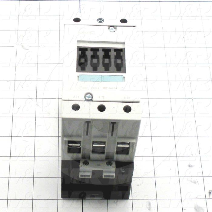 Contactor, 3 Poles, 24VAC Coil, 90A, 20 HP @ 3PH 200VAC, 575VAC, 50HP HP @ 3PH 460VAC, Screw Terminal Connection