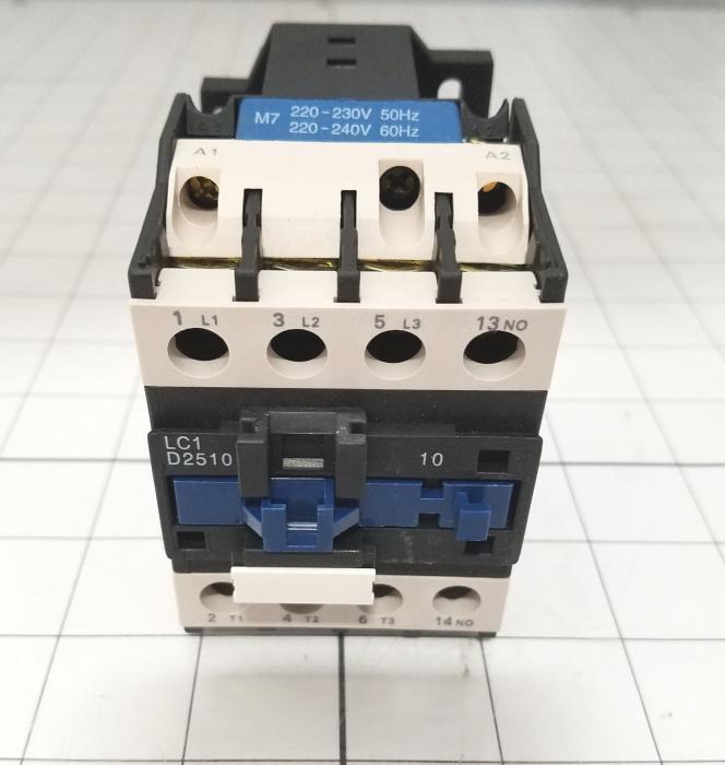 Contactor, AC CONTACTOR, 3 Poles, 120VAC Coil, 40A, 600VAC