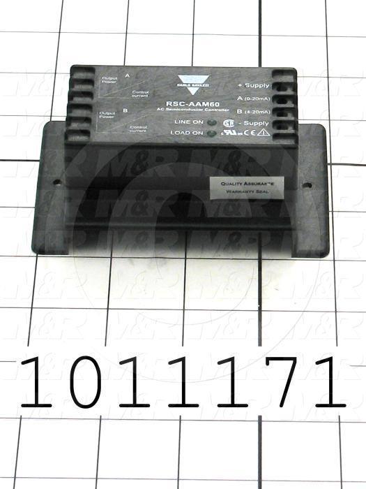 Control Module, 4-20mA Control Current, 600VAC
