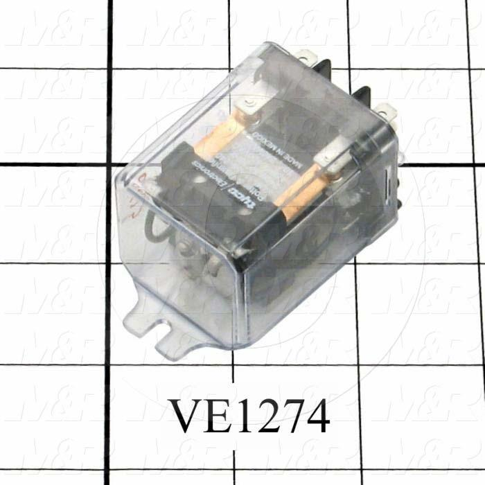 Control Relay, 240VAC Coil Voltage, DPDT