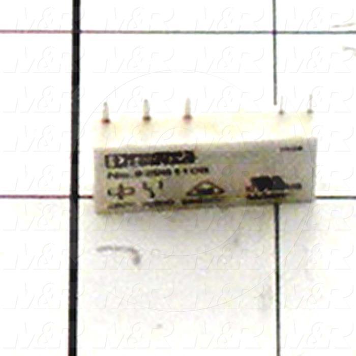 Control Relay, 24VDC Coil Voltage, SPDT, 6A, 120VAC, Plug-in/Solder