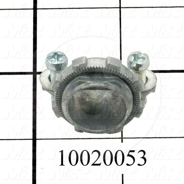 "Cord Connector, 3/8"", Locknuts Included"