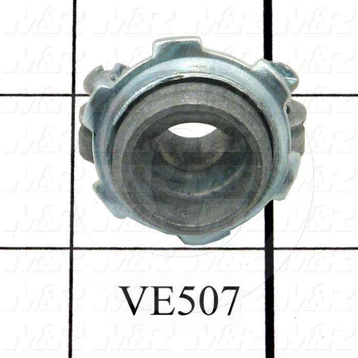 Cord Connector, Clamp Type, 3/8""