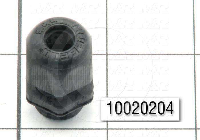 "Cord Grip, 5/8"" Conduit Size, 0.250""-0.340"" Cord Diameter Range"