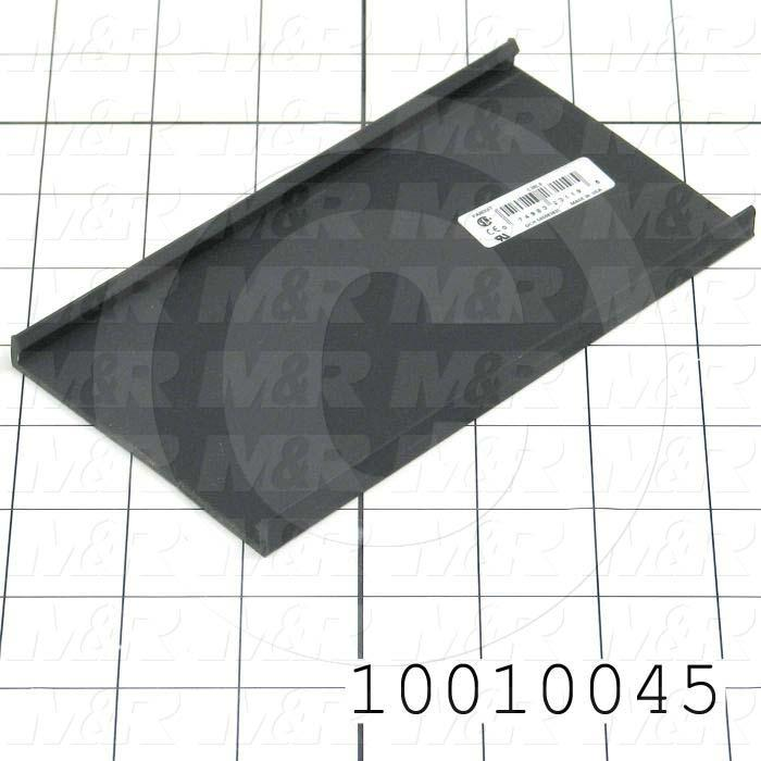 "COVER, WIRE DUCT 3"" BLACK"