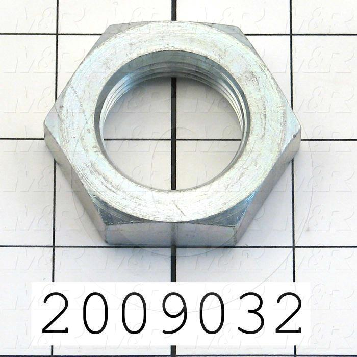 Cylinder Accessories, 1/4-20 Thread Size, Mounting Nut, Used for Bimba Cylinders