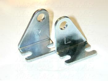 "Cylinder Accessories, Pivot Bracket With 3/8"" Pin"