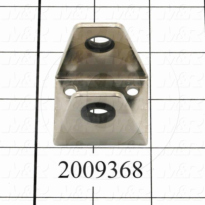 Cylinder Accessories, Rear Trunion Bracket for 25mm Bore Cylinders