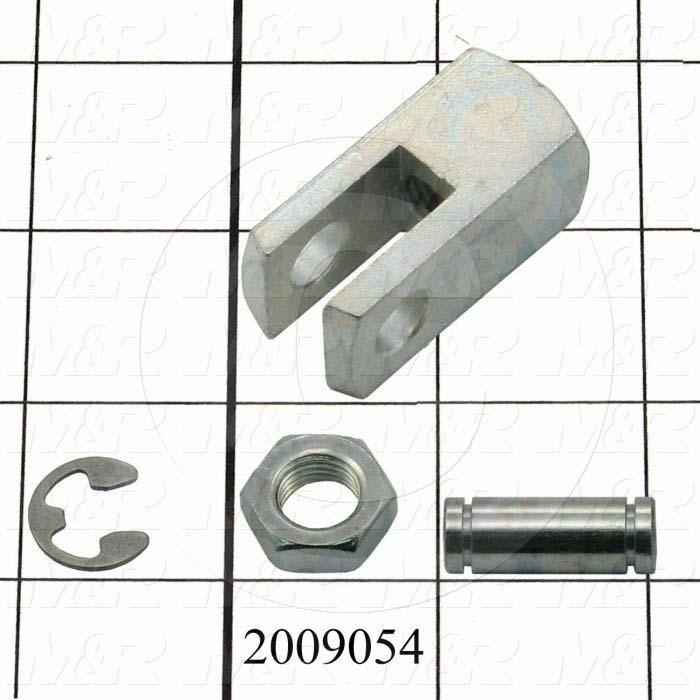 "Cylinder Accessories, Rod Clevis With 3/8"" Pin"