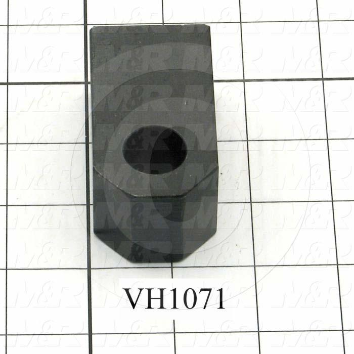 """Cylinder Clevis, 3/4-16 Thread Size, 1.25 in. Width, 2.56"""" Length, 3/4"""" Pin Size"""
