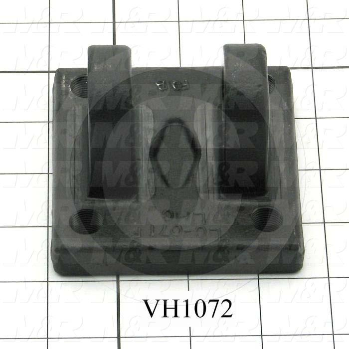 """Cylinder Clevis, 3/8-24 Thread Size, 3.50 in. Width, 3.50"""" Length, 3/4"""" OD Pin Size"""