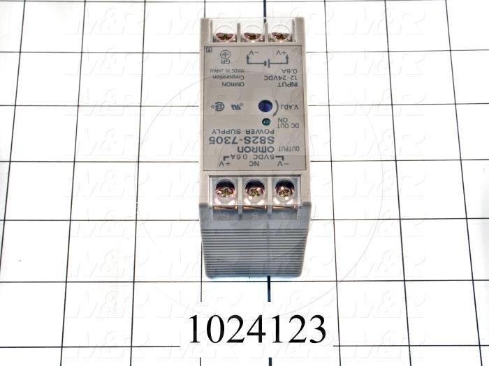 DC/DC Converter, 24VDC, 3W, 5VDC Output Voltage, 0.6A Output Current