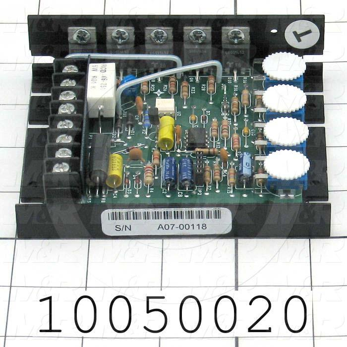 DC Drive, 1/8-1/2HP, 120/240V, 90/180VDC Output Voltage