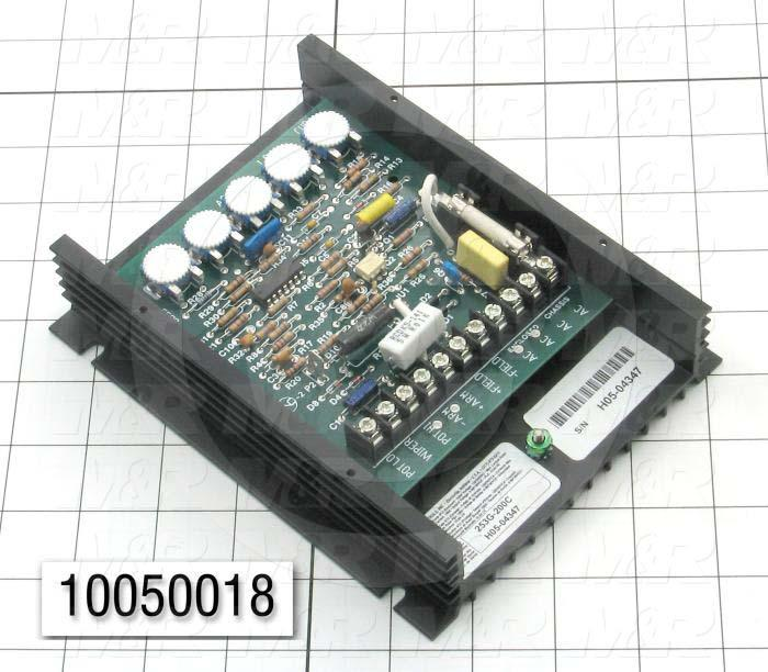 DC Drive, 1/8-2HP, 120/240V, 90/180VDC Output Voltage