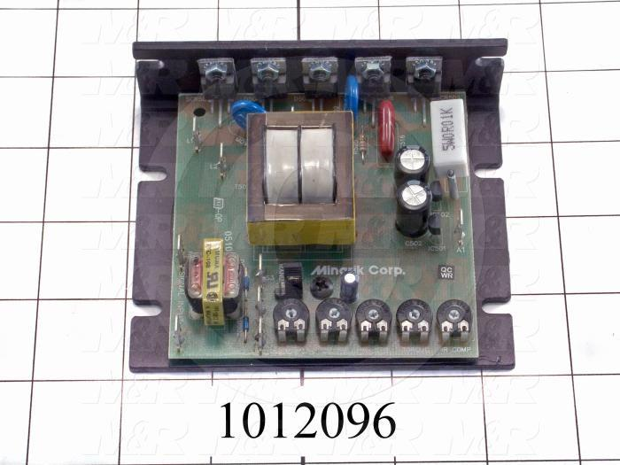 DC Drive, 1HP, 115VAC, 90VDC Output Voltage, Isolated Input