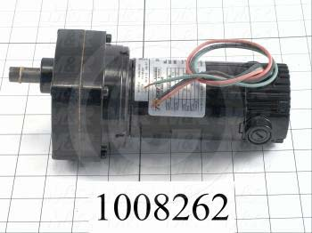 DC Motor, 1/20HP, 24 RPM, 90VDC, 0.58A