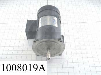 DC Motor, 1/2HP, 56C Frame, 1750 RPM, 90VDC, 5A