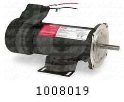 DC Motor, 1/2HP, 56C Frame, 1750 RPM, 90VDC