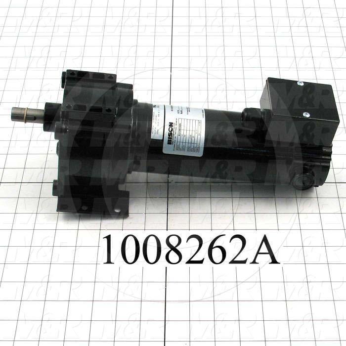 DC Motor, 1/6HP, 22 RPM, 180VDC, 0.88A