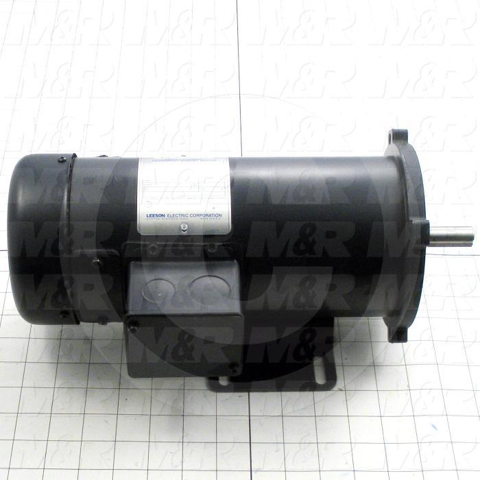 DC Motor, 3/4HP, 1750 RPM, 90VDC