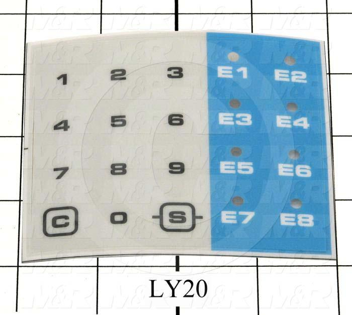 Decals & Documents, Keypad Nameplate