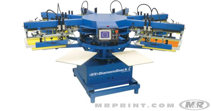 Diamondback C Automatic Screen Printing Press