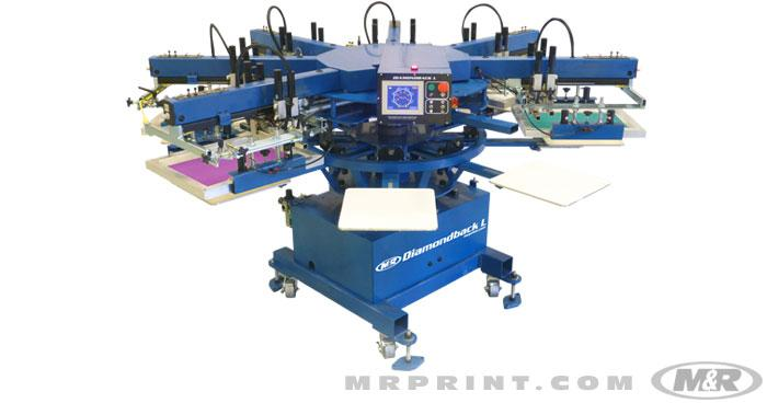 Diamondback L Automatic Screen Printing Press