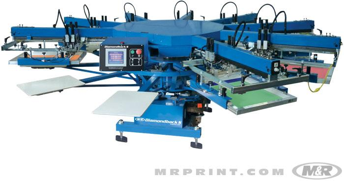 Diamondback S Automatic Screen Printing Press