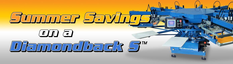 diamondback s summer savings banner