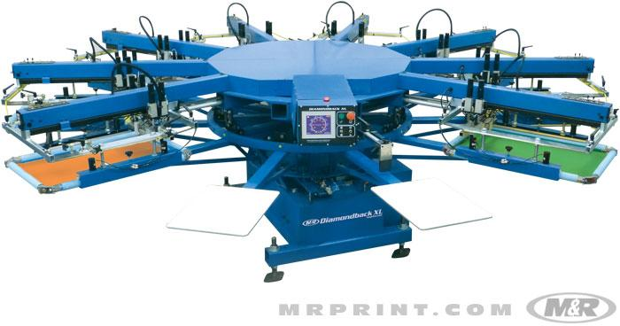 Diamondback XL Automatic Screen Printing Press