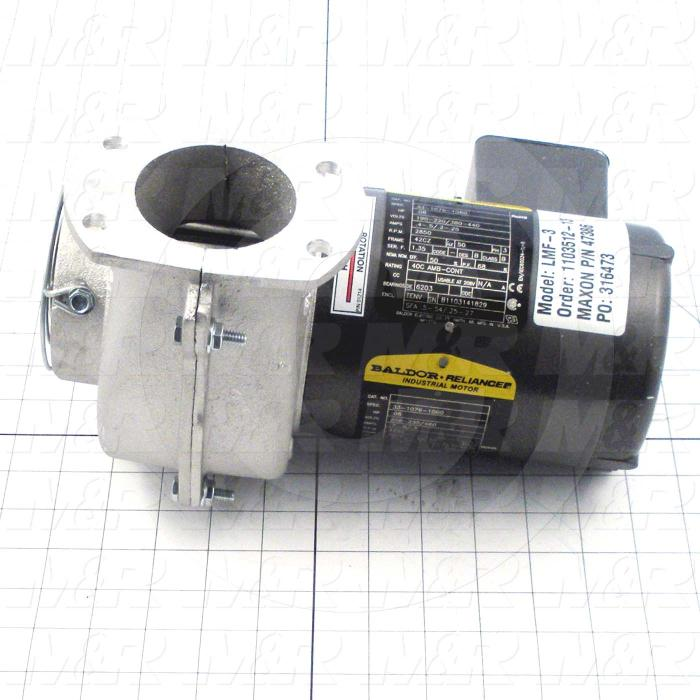 Direct Drive, Max. RPM 3450, Voltage 190-220/380/440V, Motor HP 1/12 hp