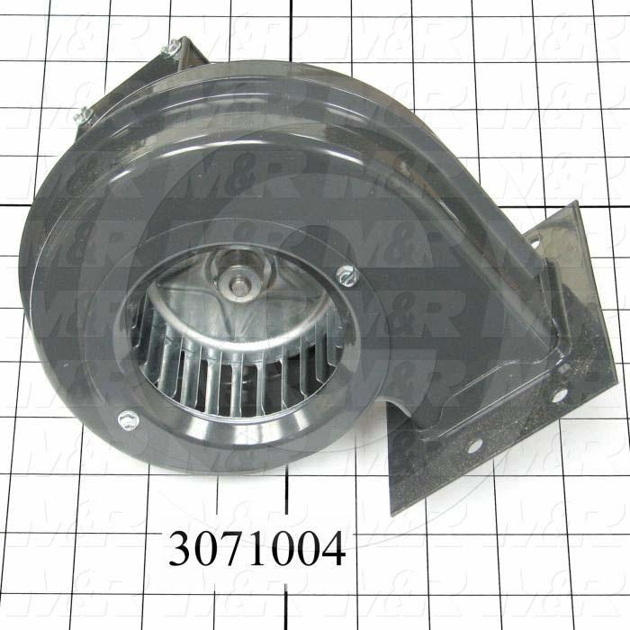 "Direct Drive, Wheel Diameter 3-3/4"", Max. RPM 2880, Voltage 230V 50/60HZ 1PH, With Thermal Protection, Temperature Rating 104F, Max. Air flow 133CFM"