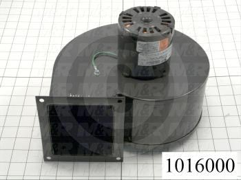 """Direct Drive, Wheel Diameter 5-1/4"""", Max. RPM 1610, Voltage 230V 1PH 60Hz, With Thermal Protection, Temperature Rating 104F, Max. Air flow 265CFM"""