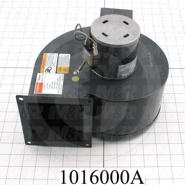 """Direct Drive, Wheel Diameter 5-1/8"""", Max. RPM 1670, Voltage 230V 1PH 60Hz, With Thermal Protection, Temperature Rating 104F, Max. Air flow 271CFM"""