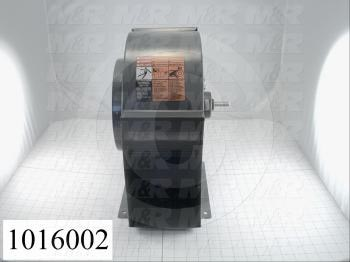 "Direct Drive, Wheel Diameter 9.00"", Max. RPM 1725, Temperature Rating 180F, Max. Air flow 1100CFM, Bore Size 0.63 in."