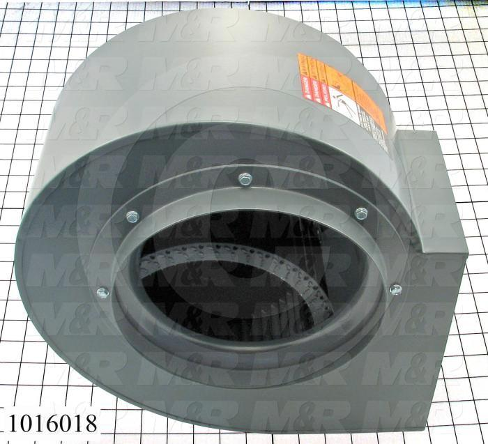"Direct Drive, Wheel Diameter 9.00"", Max. RPM 1725, Temperature Rating 180F, Max. Air flow 1390CFM, Bore Size 7/8 in."