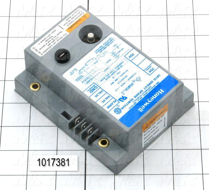 1017381    Direct Spark Ignition Module  24vac  60hz  6