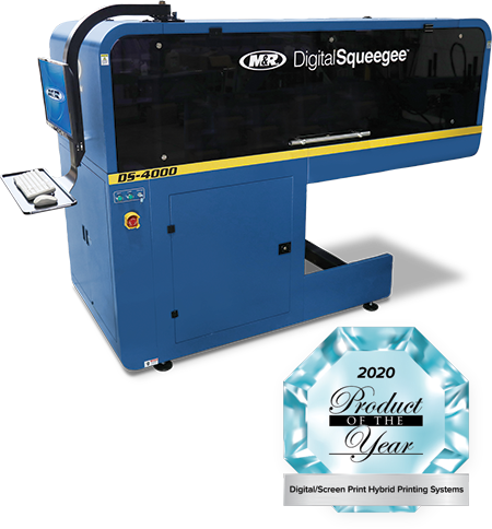 DS-4000™ DigitalSqueegee® Hybrid Printing System