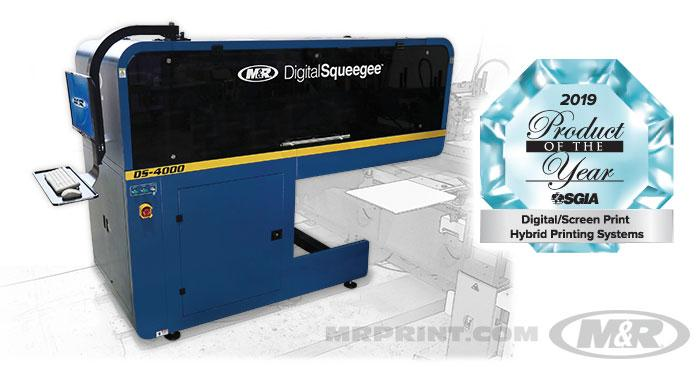 DS-4000™ Digital Squeegee® Hybrid Printing System