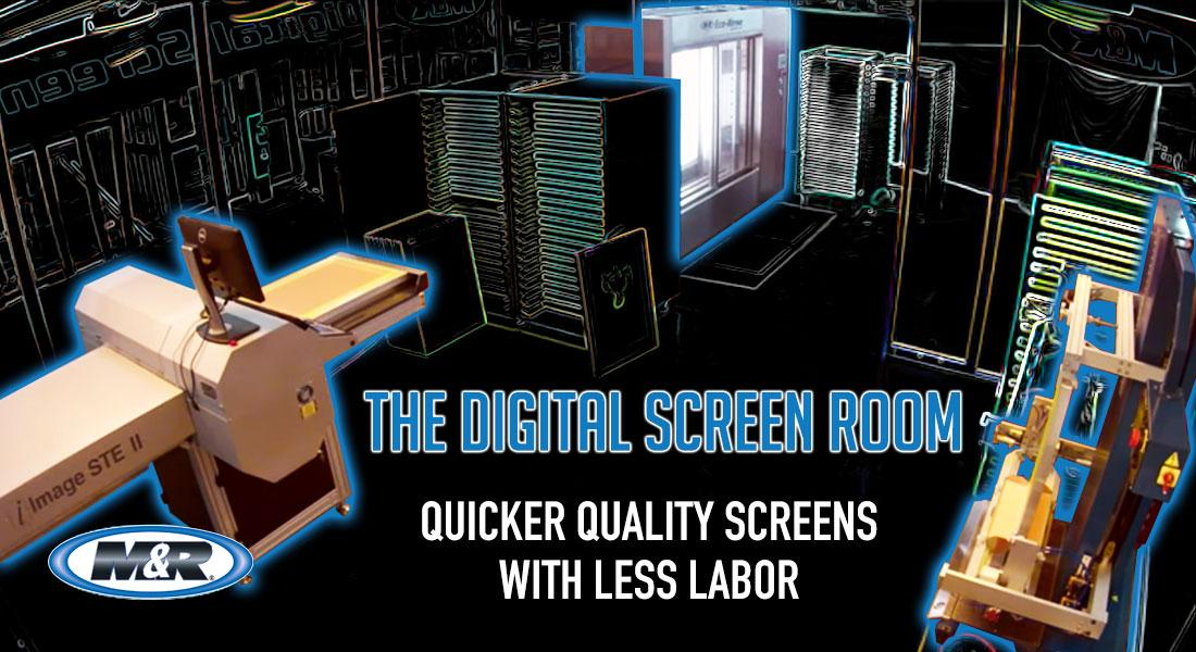 digital screen room image