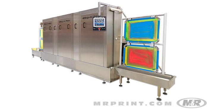 ECO-TEX MODULAR Automatic Screen Cleaning and Reclaiming System