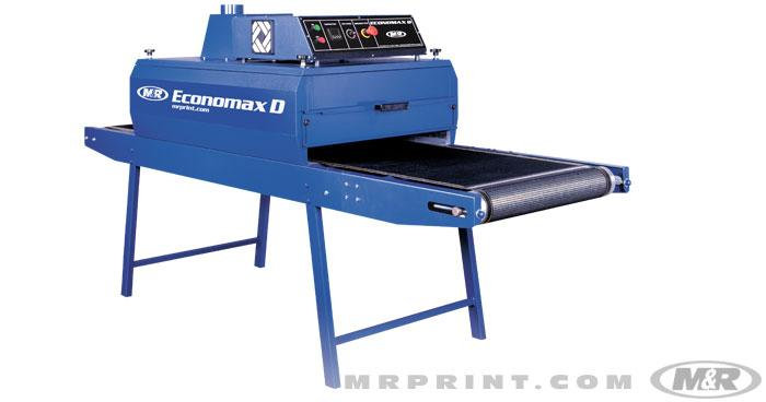Economax D Electric Screen Printing Conveyor Dryer