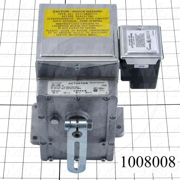 Electric Actuators, Modulating Motor for Burner