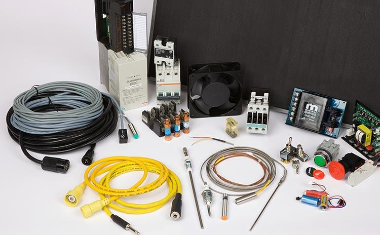 High-quality electrical parts are critical to safe and sustained equipment performance, and that's the only kind you'll find at the M&R store.